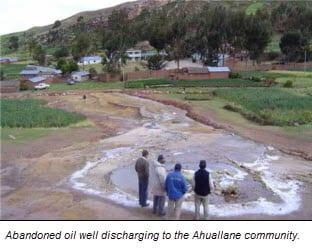 ENS-Abdondoned Oil Well-Ahuallane-Peru